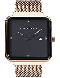 Giordano Analog Black Dial Men's Watch - A1067-11