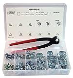 Oetiker 18500056Service Kit (2-ear Peanklemme, Zink plattiert mit Standard Kiefer Single Action Kneifzange)
