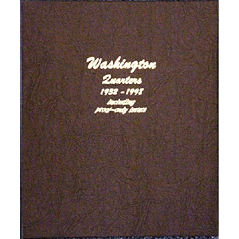 Dansco 8140 Washington Quarters w/ Proof Album (1932-1998) by Dansco