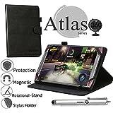 Navitech housse étui Noir 8 po + stylet pour Acer Predator 8 Gaming Tablet