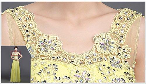 Drasawee - Robe - Taille empire - Femme Jaune