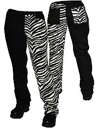 Zebra Plüsch Hose Pure Classic Style