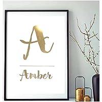 Poster Gold, Silber oder Kupfer