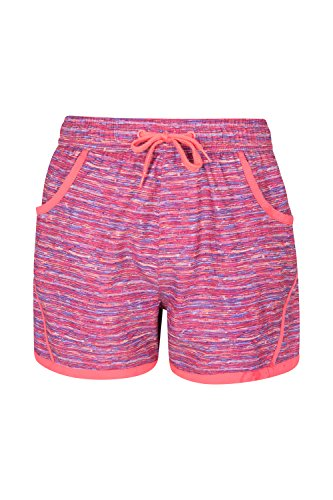 Mountain Warehouse Patterned Girls Boardshorts Bright Pink 9-10 years