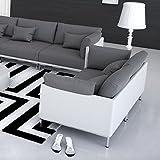 Innocent Sofa 2-Sitzer Farggi weiß/grau