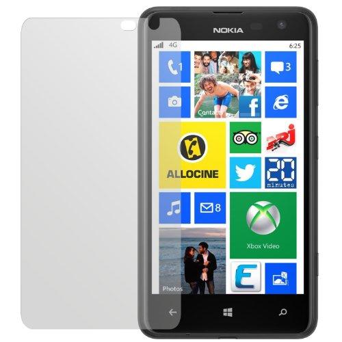 dipos I 2X Schutzfolie matt passend für Nokia Lumia 625 Folie Bildschirmschutzfolie