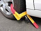 Best Car Locks - Autosun Universal Yellow Anti Theft Car Wheel Tyre Review