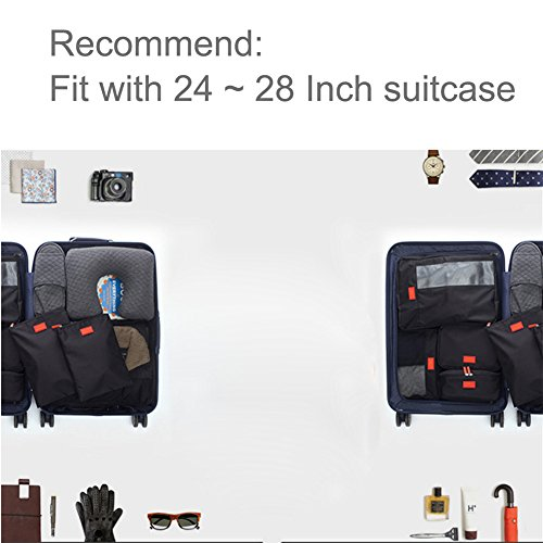 Laconile L Travel Bag, Kofferorganizer, schwarz (schwarz) - SF-058