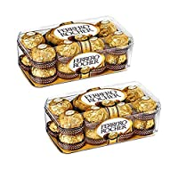 Combo Pack Ferrero Rocher Chocolate 16 Pieces (Pack of 2)
