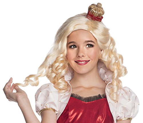 Rubies 352917–Apple White Child Wig, STD, blond