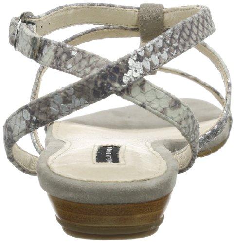 Belmondo 221047/M, Scarpe con cinturino alla caviglia donna Grigio (Grau (grigio))