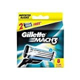 #9: Gillette Mach3 Refill - 8 Count