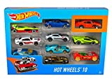 #2: Hot Wheels 10 Cars Gift Pack, Assortment