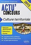 Lire le livre Culture Territoriale 2015 gratuit