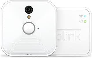 Sistema di telecamere per la sicurezza domestica Blink, per interni, con rilevatore di movimento, video in HD, batterie...