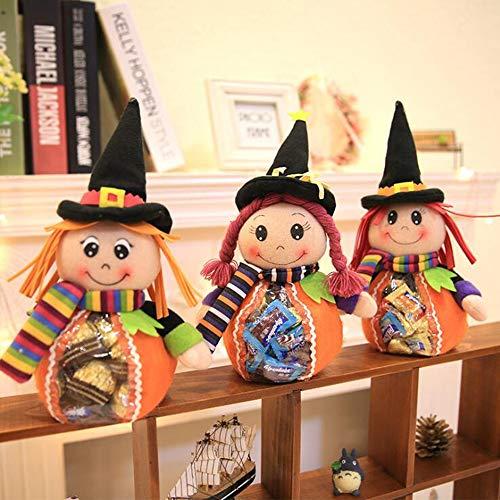 Halloween Candy Taschen Trick Oder Behandeln Süßigkeiten Tote Taschen Für Kinder Halloween Thema Party Geschenk Gunst 3 Niedliche Stile (Trick Oder Halloween-party Behandeln)
