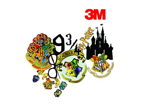 Elton 3M Vinyl Sticker Pack [9-Pcs], Lovely 3M Vinyl Harry Potter - 2 Stickers for Laptop, Cars, Motorcycle, PS4. X Box One . Guitar Bicycle, Skateboard, Luggage - Waterproof Random Sticker Pack