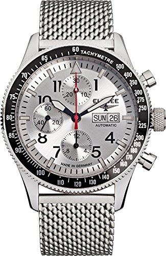 Elysee Mens Watch Executive Executive I automatic chronograph 80530MSILVER