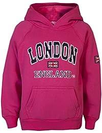Love Lola - Sudadera con capucha para niña, recuerdo de Londres