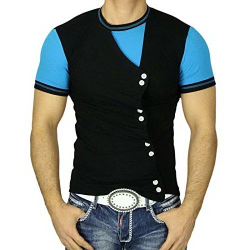 Polo T-Shirt 5071 Rusty Neal Schwarz