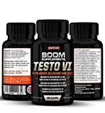 Testosterona - Suplemento nº 1 para hombres y mujeres | 90 Capsulas | Alcanzar niveles normales de testosterone | Reducción de fatiga | Obtención metabólica normal de energía | Garantía total