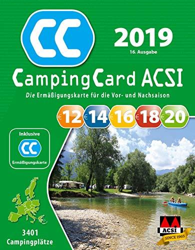 ACSI CampingCard Ermäßigungskarte 2019 für die Vor- und Nachsaison Deutsch - Rabattkarte