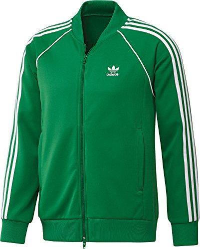 adidas Damen Trainingsanzug New Young Knit, OrangeRot, LL