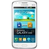 Samsung i8262 Galaxy Core DuoS Smartphone (10,9 cm (4,3 Zoll) Touchscreen, 5 Megapixel Kamera, 1,2GHz, 1GB RAM, 8GB interner Speicher, Android 4.1) weiß [EU-Version]