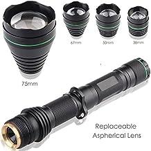 Uni quefire uf1508Luz infrarroja ir Zoo 1600LM LED Linterna kitset con ajuste barem Enfoque Torch infrarrojos, visión nocturna para caza, pesca nocturna, 850NM Kitset