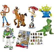 LOTE 6 FIGURAS Bullyland Toy Story - Woody - Buzz Lightyear - Jessy -  Perdigón - af821e8dc55