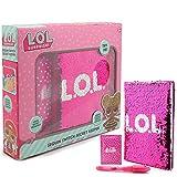 L.O.L. Surprise ! Diario Segreto per Bambina con Paillettes Diari per Bambini Bambole LOL Confetti Pop