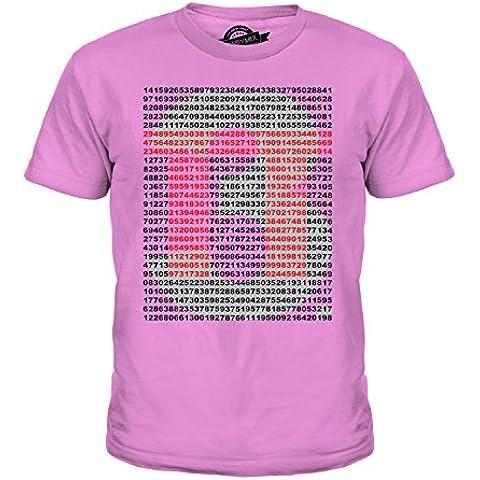 CandyMix Pi Greco Valore Unisex Bambino Ragazzi/Ragazze T-Shirt