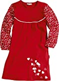 Playshoes Mädchen Nachthemd Interlock Herzen, Rot (original 900), (Herstellergröße: 110)