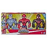 Marvel Super Heros Adventures - Pack de 3 figurines Mega Mighties - Spiderman - 25 cm - Jouet enfant