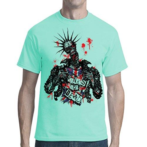 Gothic Fantasy unisex T-Shirt - Zombie: Punk's not dead! by Im-Shirt - Mint 5XL