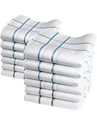 "12 pañuelos de caballero - Modelo ""Elliott"" - 40 centimetros"