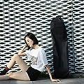 CUHAWUDBA 110 cm Lange Skateboard Tasche Oxford Stoff Skateboard Tasche 43 Zoll Skateboard Trage Tasche Schulter Reise Longboard Rucksack All Rad Skateboard Tasche