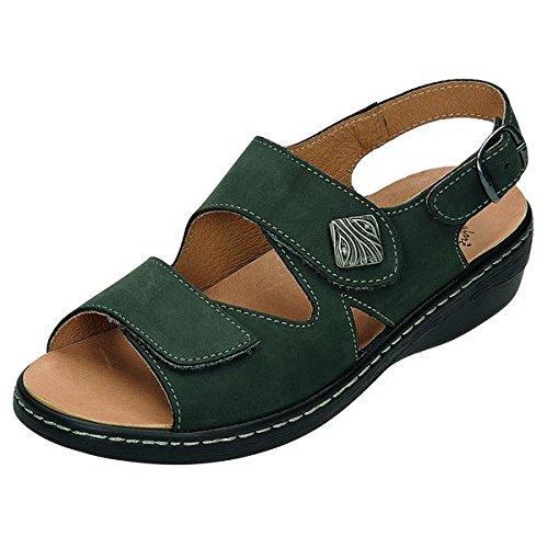 DocComfort-pantol.bequem 440340, sandales femme Gris - Gris