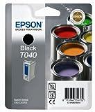 Epson Original Black Ink Cartridges T040/T040120, Genuine