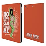 Officiel Star Trek Orion Female Personnages Iconiques TOS Étui Coque De Livre En Cuir Pour iPad Air (2013)