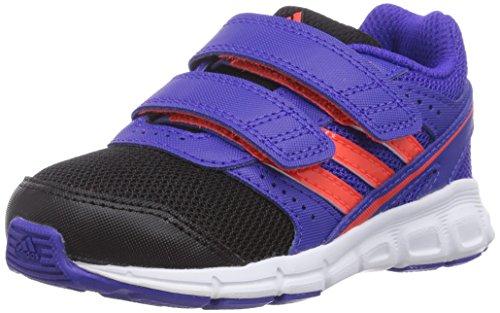 adidas - Hyperfast Cf I, Scarpine primi passi Bambino Viola (Violett (Night Flash S15/Solar Red/Core Black))