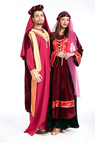 Paare Kostüm Niedliche Halloween - LLY Spieluniformen für Männer und Frauen in Europa und Amerika RPG-Liebhaber Halloween-Kostüm