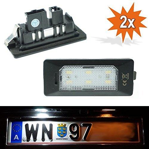 Do!LED PN LED Kennzeichenbeleuchtung Xenon Weiss mit E Prüfzeichen Pn Led