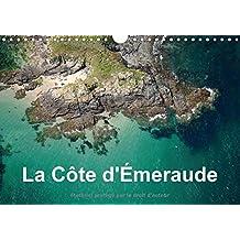 La côte d'Emeraude : Photo aérienne de la Côte d'Emeraude. Calendrier mural A4 horizontal 2016