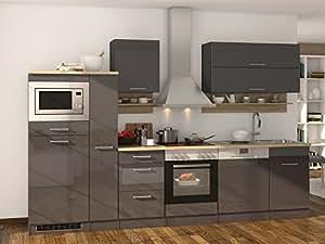 Kuchenzeile Einbaukuche Kuche Kuchenblock Kuchen Set Kochnische