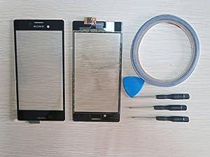 Ersatz For Sony Xperia M4 Aqua E2302 Glas Touchscreen Display Bildschirm Schwarz+ Werkzeug & Klebeband