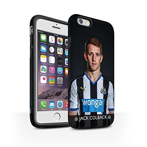Officiel Newcastle United FC Coque / Matte Robuste Antichoc Etui pour Apple iPhone 6S / Shelvey Design / NUFC Joueur Football 15/16 Collection Colback