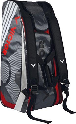 Victor portaracchette e sport, super 9097multithermobag, rosso/grigio/bianco, taglia unica