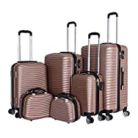 Capital Luggage Trolley Bags Set of 6 Pcs, Champinge, 1605116, Unisex