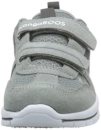 KangaROOS Unisex-Kinder Kj-30 Low-Top Grau (dk Grey/mid Grey 221)